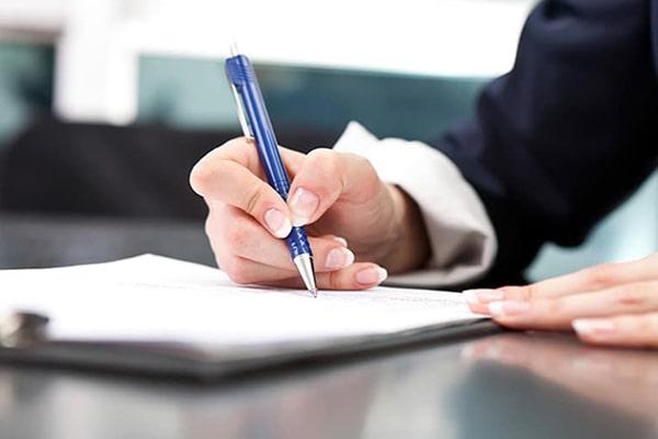 نوع فرم استخدام مشاور املاک باید تعیین شود